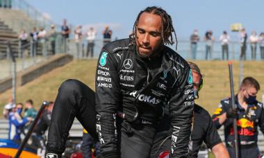 Lewis Hamilton, după cursa de la Silverstone / Foto: Profimedia