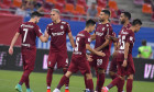 Fotbaliștii de la CFR Cluj, în meciul din Supercupa României cu Universitatea Craiova / Foto: Sport Pictures