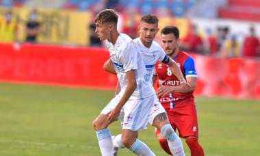 Octavian Popescu, în meciul FC Botoșani - FCSB / Foto: Sport Pictures