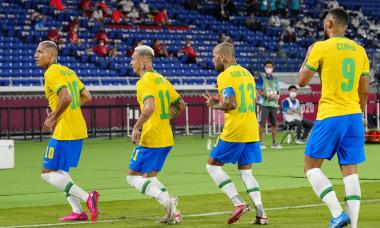 Brazil v Germany, international football, Group D, Tokyo Olympic Games 2020, International Stadium Yokohama, Japan - 22 Jul 2021