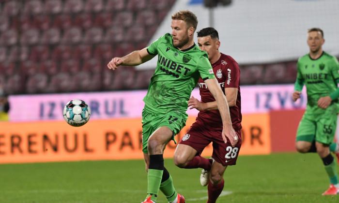 Adam Nemec, în tricoul lui Dinamo / Foto: Sport Pictures
