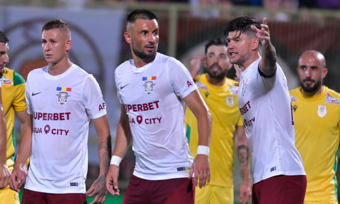 Dragos Grigore, în meciul CS Mioveni - Rapid / Sport Pictures