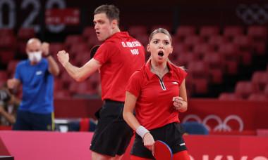 Bernadette Szocs și Ovidiu Ionescu, la Jocurile Olimpice / Foto: Getty Images