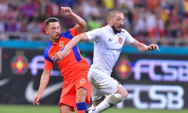 Olimpiu Moruțan, în meciul FCSB - Șahtior Karagandy / Foto: Sport Pictures