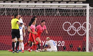 Romania v Republic of Korea: Men's Football - Olympics: Day 2