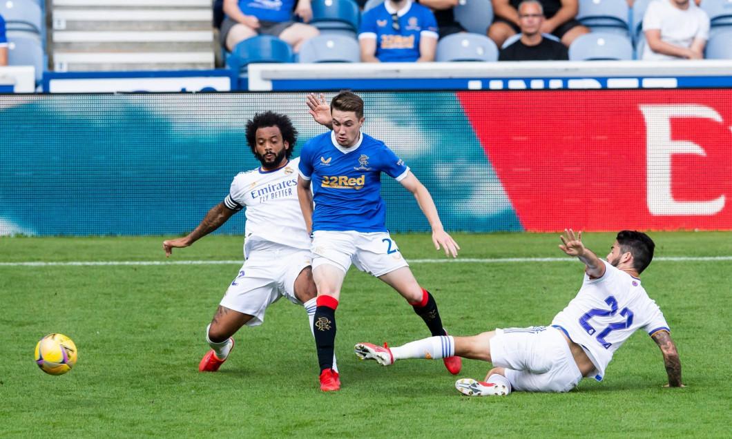 Rangers v Real Madrid, Pre-season Friendly, Football, Ibrox Stadium, Glasgow, UK - 25 July 2021