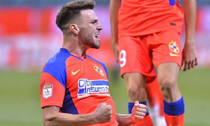 FOTBAL:FCSB-FC SHAKHTER KARAGANDY, UEFA CONFRENCE LEAGUE (22.07.2021)