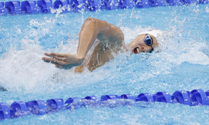 Japan: Tokyo 2020 Olympic Games - Swimming July 25