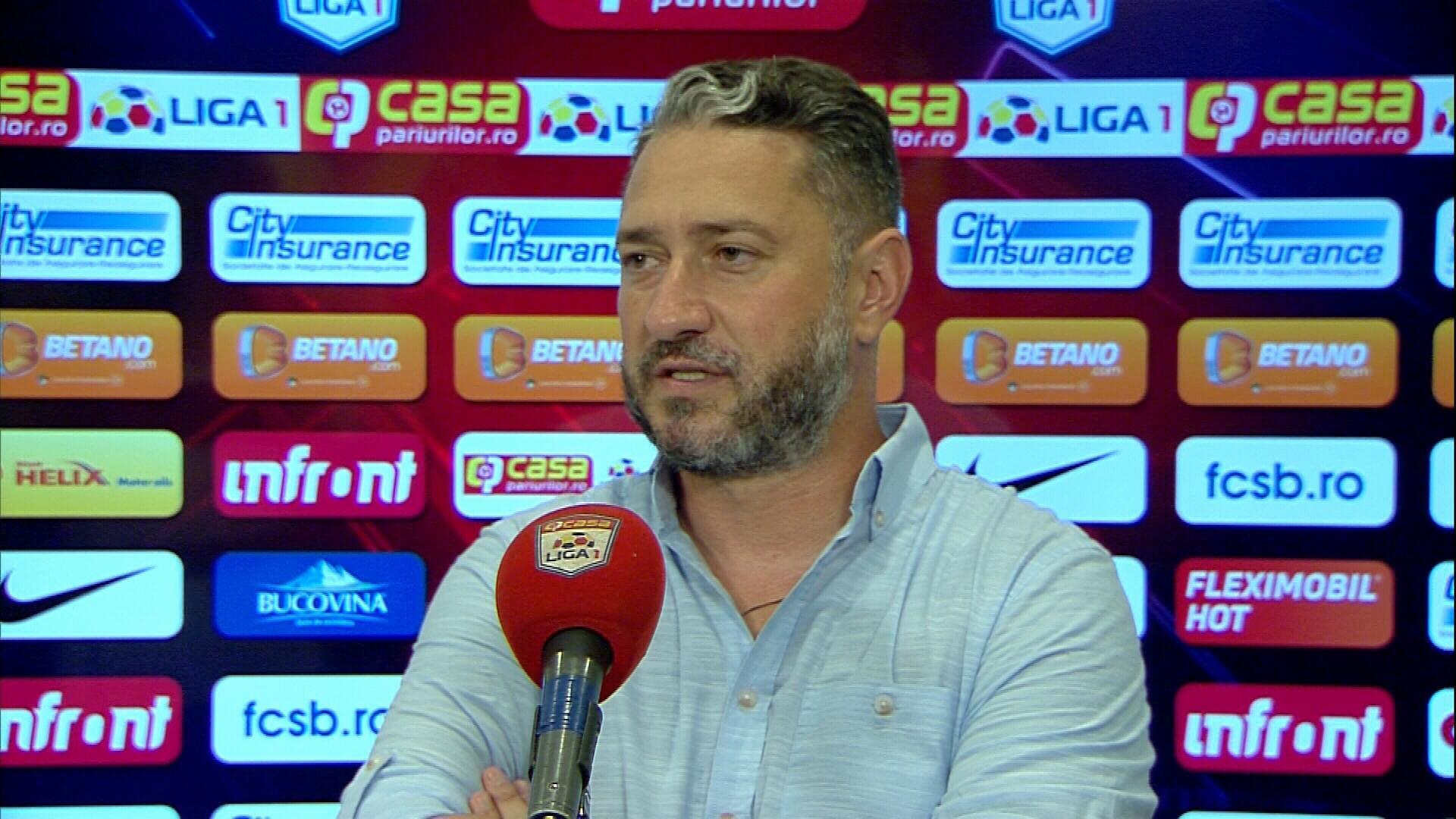 """""""Mental, nu sunt mulțumit cum am arătat!"""" Dragoș Bon, dezamăgit după eșecul cu FCSB"""