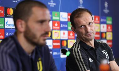 Juventus Press Conference - UEFA Champions League - Group H - Allianz Stadium, Turin