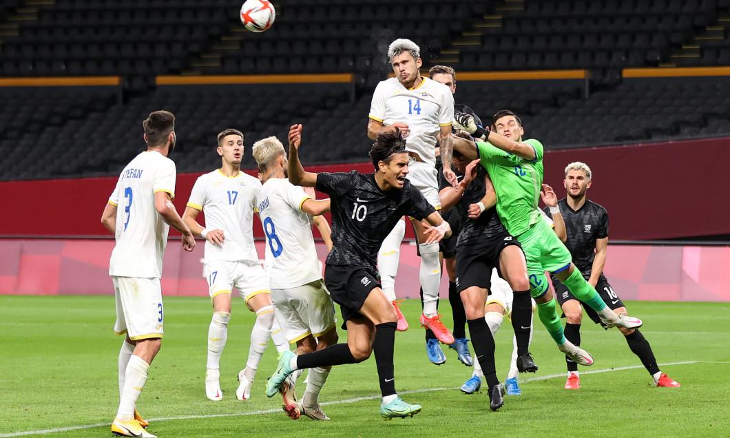 Romania v New Zealand: Men's Football - Olympics: Day 5