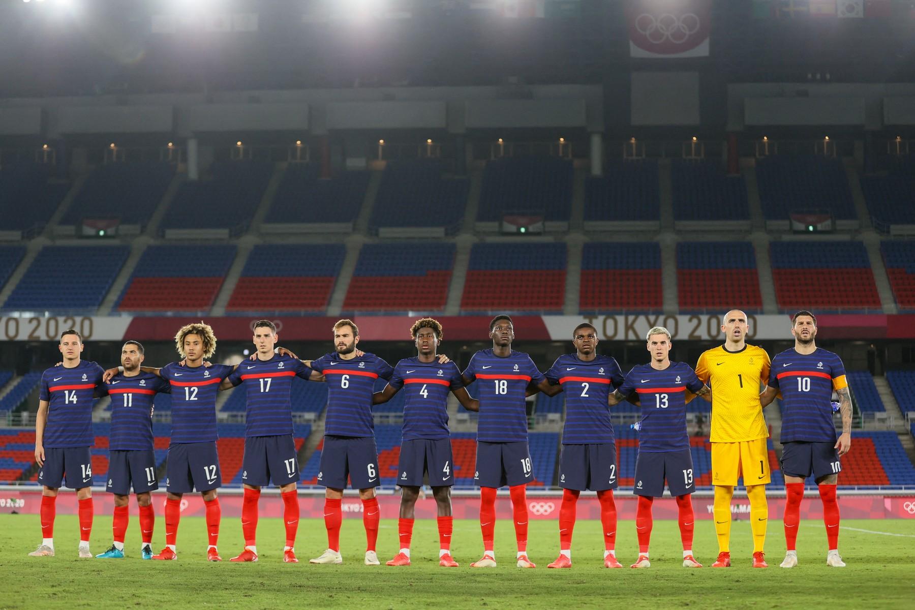 Fotbaliștii Franței, umiliți la Jocurile Olimpice, cu 11 goluri încasate în 3 meciuri. Reacții dure în presa din Hexagon