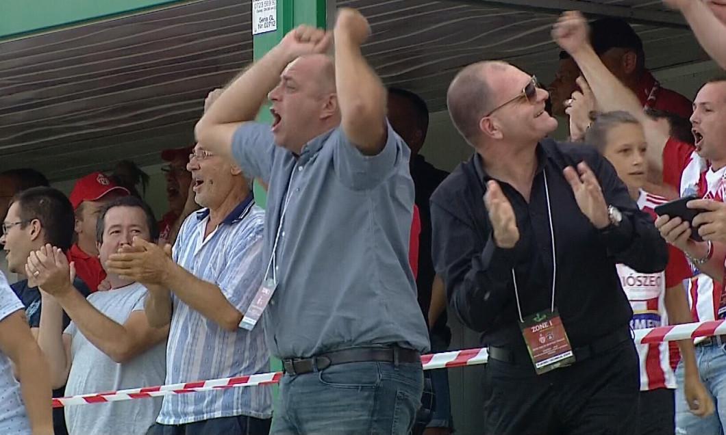 Laszlo Dioszegi, după golul lui Boubacar Fofana / Foto: Captură Digi Sport