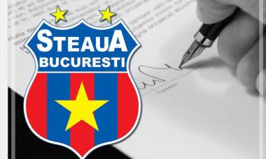 Logo Steaua București / Foto: Facebook@CSASTEAUA