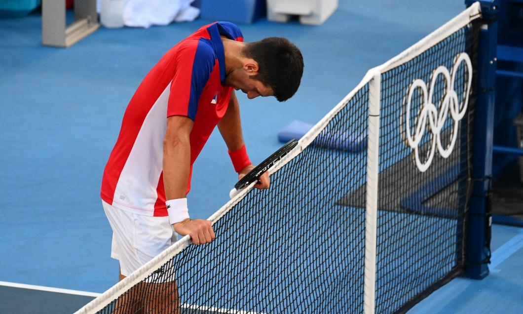Novak Djokovic, după înfrângerea cu Pablo Carreno Busta / Foto: Profimedia