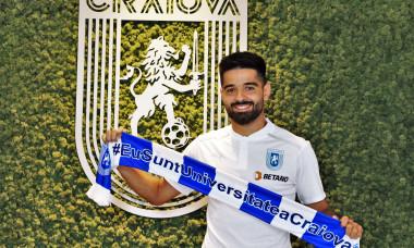 Ionuț Vînă a semnat cu Universitatea Craiova / Foto: Facebook@UCVOficial