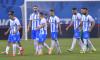 Fotbaliștii Universității Craiova, după eliminarea din Conference League, provocată de Laci / Foto: Sport Pictures