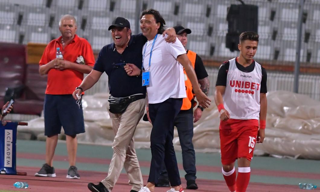 Dario Bonetti, la finalul meciului Dinamo - Academica Clinceni / Foto: Sport Pictures