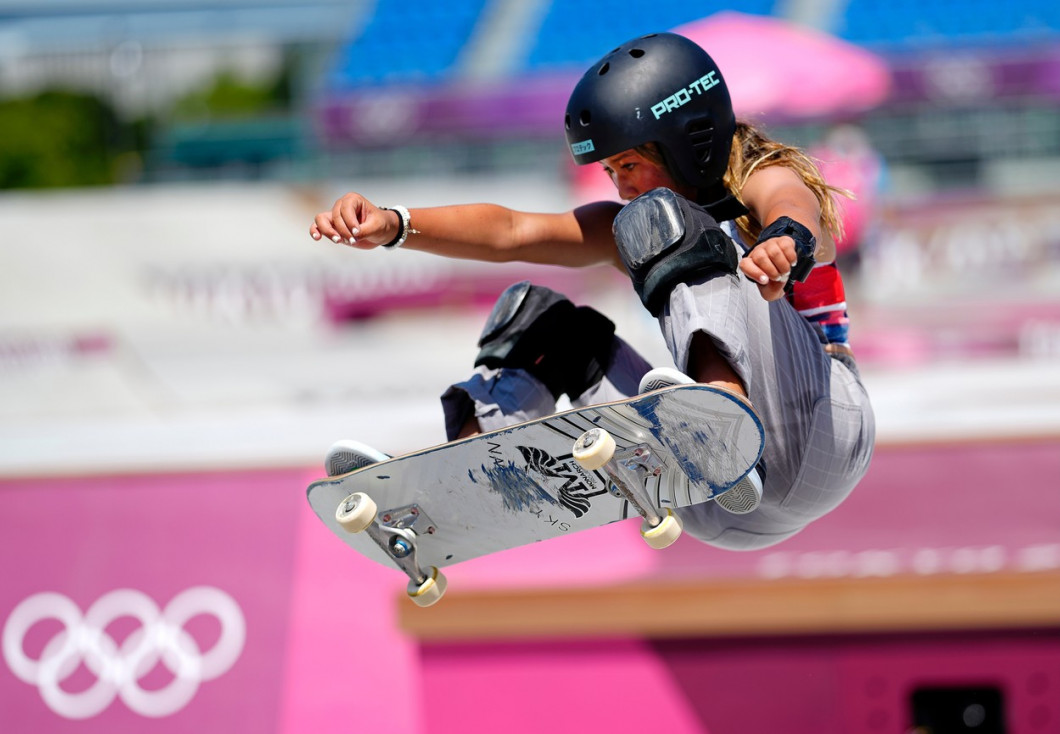 Skateboarding, Ariake Sports Park, Tokyo Olympic Games 2020, Japan - 04 Aug 2021