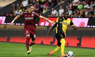 CFR Cluj v BSC Young Boys - UEFA Champions League: Third Qualifying Round Leg One, Cluj-Napoca, Romania - 03 Aug 2021