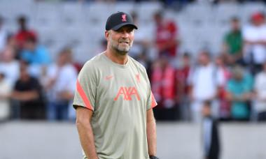 Hertha BSC Berlin v FC Liverpool, Football, Tivoli Stadium Tirol, Innsbruck, Austria - 29 Jul 2021