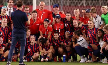 United States v Australia: Bronze Medal Match Women's Football - Olympics: Day 13