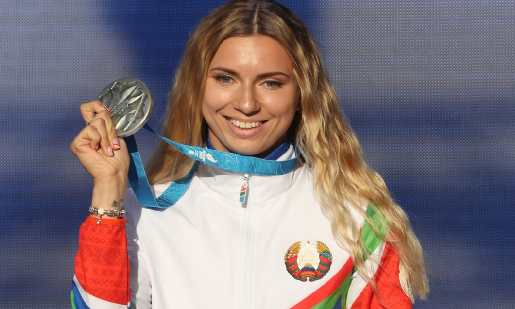 Belarusian sprinter Kristina Timanovskaya