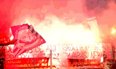 Atmosferă incendiară la FC Argeș - Rapid / Foto: Captură Digi Sport