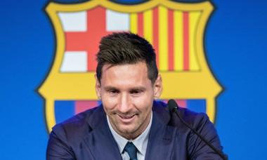 Leo Pressi Press Conference, Barcelona, Spain - 08 Aug 2021
