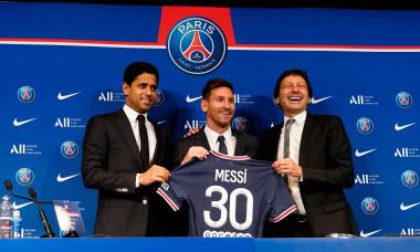 Lionel Messi Press Conference, Football, Parc des Princes, Paris, France - 11 August 2021