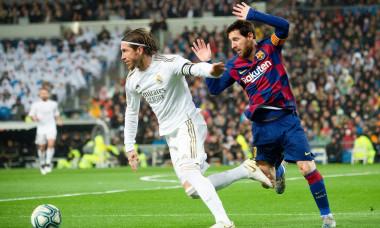 Real Madrid v Barcelona, La Liga, Football, Santiago Bernabeu Stadium, Madrid, Spain - 01 Mar 2020