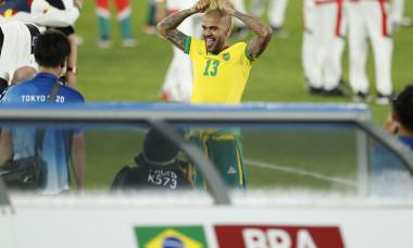 Soccer : Tokyo 2020 Olympic Games Men's Football Gold medal match : Brazil 2-1 Spain