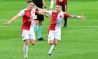 Fotbal - Fortuna liga - 20/21 - Slavia - Sparta, 2:0, 11. 4. 2021