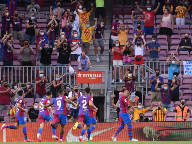 Barcelona - Real Sociedad 2-0, ACUM, la Digi Sport 2. Braithwaite mărește avantajul catalanilor