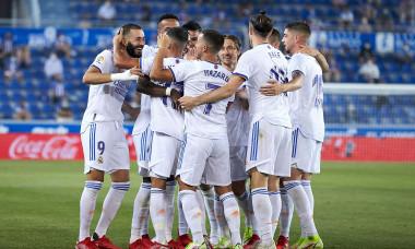 Deportivo Alaves v Real Madrid CF, La Liga Santander, Mendizorrotza Stadium, Vitoria-Gazteiz, Spain - 14 Aug 2021