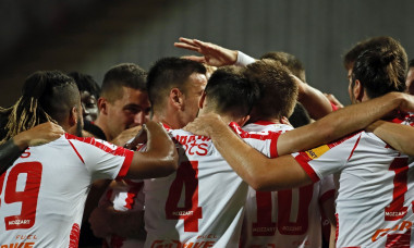 Football Serbia Champions League qualifiers between Red Star and Kairat
