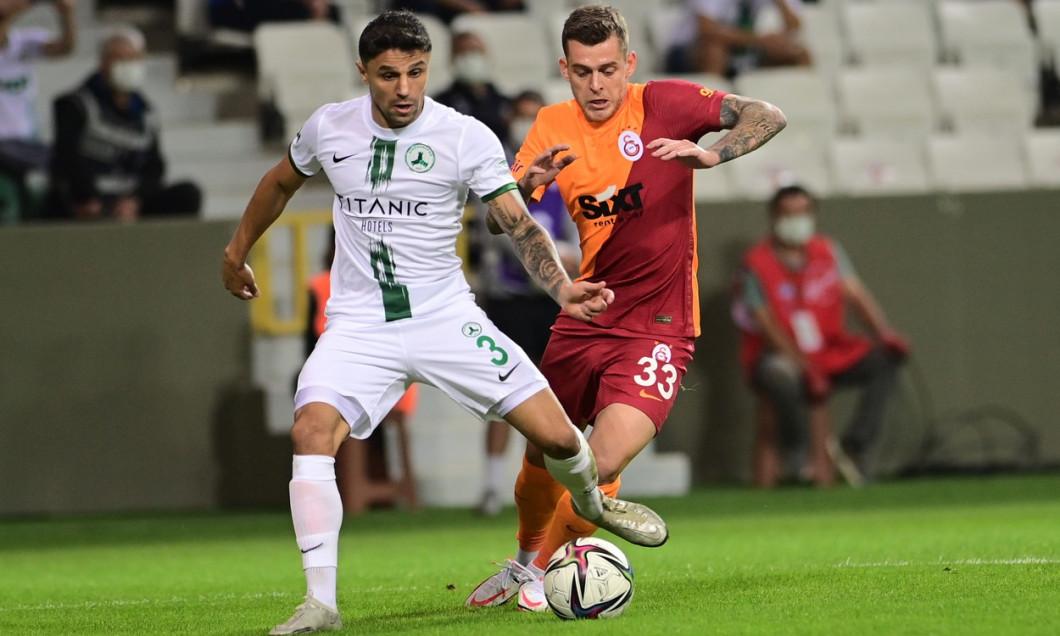 Turkish Super League footbll match between Giresunspor and Galatasaray at Cotanak Stadium in Giresun , Turkey on August 16 , 2021.