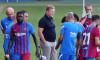 FC Barcelona v Gimnastic de Tarragona - Friendly Match, Spain - 21 Jul 2021