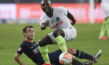(SP)CHINA SUZHOU FOOTBALL CHINESE SUPER LEAGUE QINGDAO HUANGHAI VS CHONGQING DANGDAI LIFAN (CN)