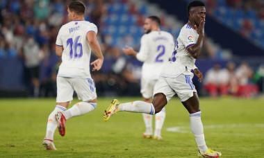 Levante UD v Real Madrid, La Liga 2021-2022, date 2. Football, Ciutat de Valencia Stadium, Valencia, Spain - 22 AUG 2021