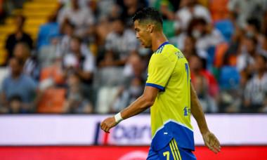 Cristiano Ronaldo, în meciul Udinese - Juventus / Foto: Profimedia