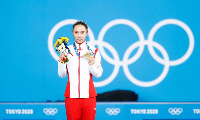 Zhu Xueying, la Jocurile Olimpice / Foto: Profimedia