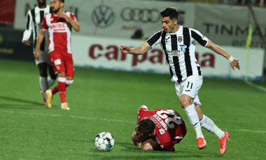 Valentin Gheorghe, într-un meci Astra - Dinamo / Foto: Sport Pictures