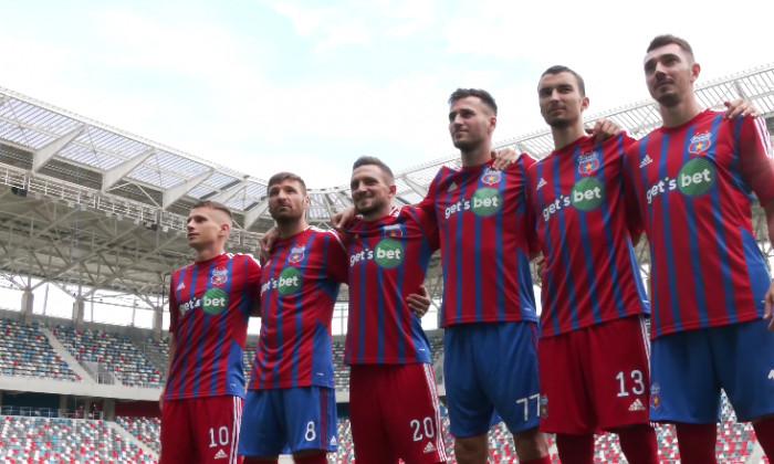 CSA Steaua și-a prezentat noile echipamente / Foto: Captură Youtube@Steaua TV