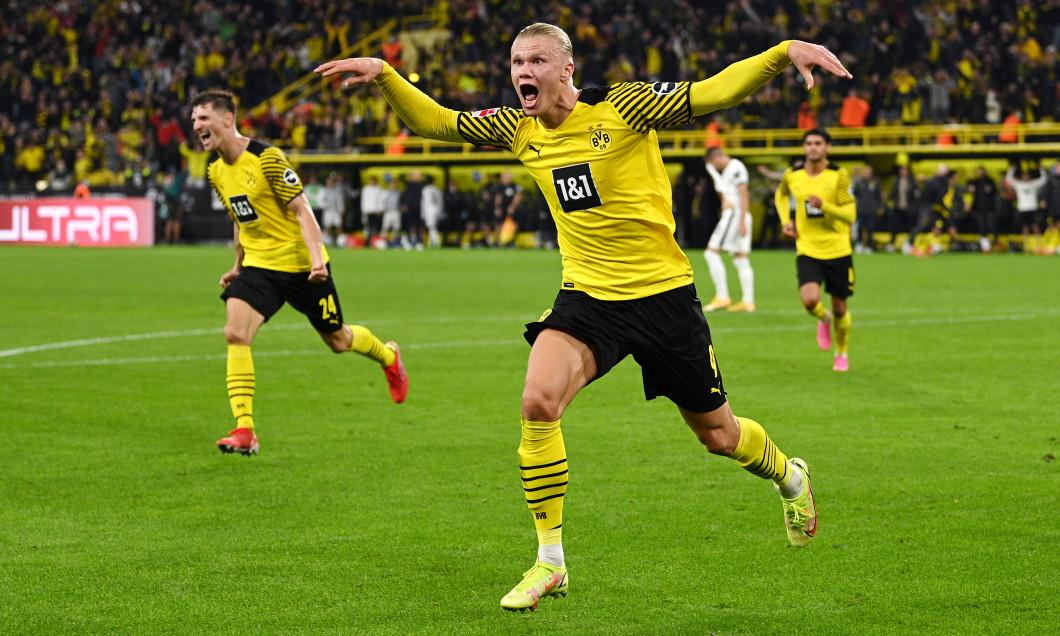 Erling Haaland, după golul marcat în Borussia Dortmund - Hoffenheim / Foto: Getty Images