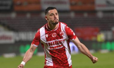 Paul Anton, în tricoul lui Dinamo / Foto: Sport Pictures