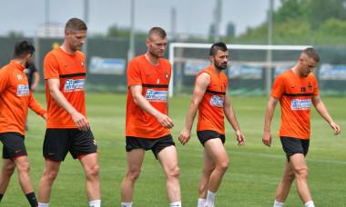 Alexandru Crețu și Stipe Vucur, la un antrenament la FCSB / Foto: Sport Pictures