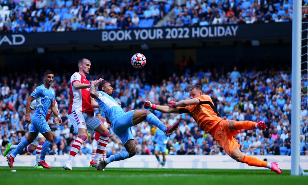 Manchester City v Arsenal, Premier League, Football, The Etihad Stadium, Manchester, UK - 28 August 2021