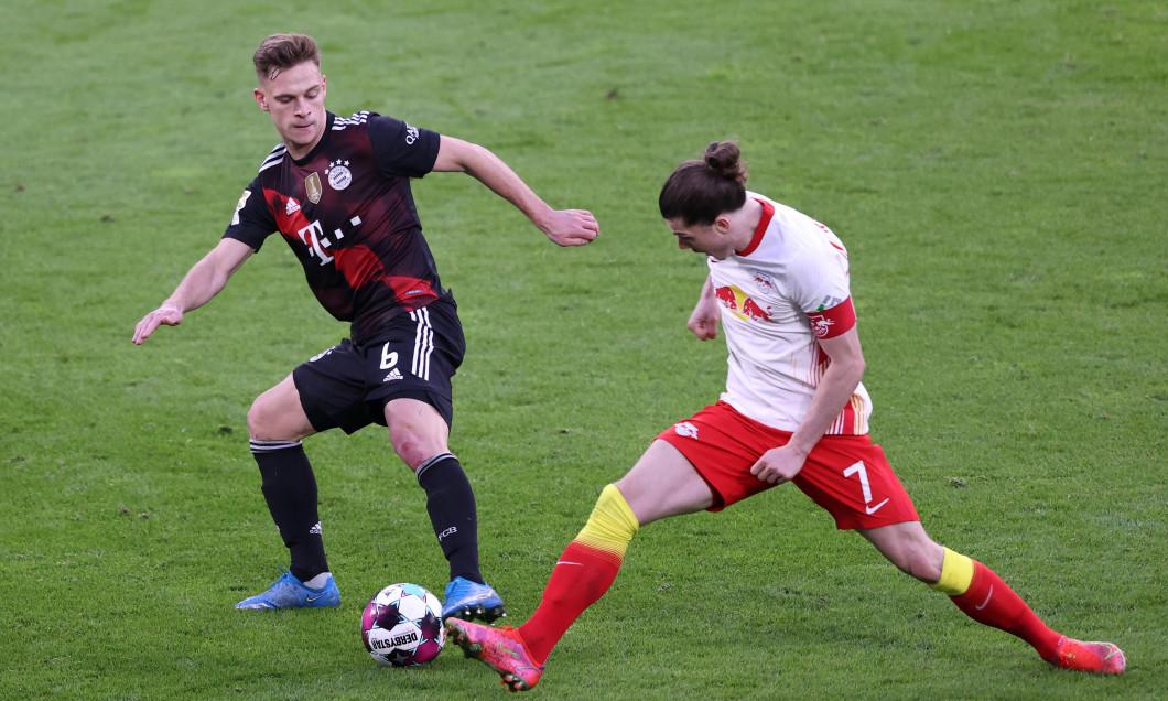 Marcel Sabitzer și Joshua Kimmich, într-un meci RB Leipzig - Bayern Munchen / Foto: Getty Images