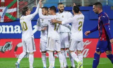 Eibar v Real Madrid, La Liga, Football, Municipal de Ipurua Stadium, Eibar, Guipuzcoa, Spain - 09 Nov 2019